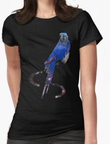 Hyacinth Macaw Womens Fitted T-Shirt