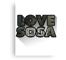Love Sosa Canvas Print