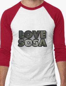 Love Sosa Men's Baseball ¾ T-Shirt