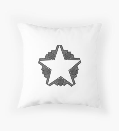 B-2 Stealth 5 point Star! Throw Pillow