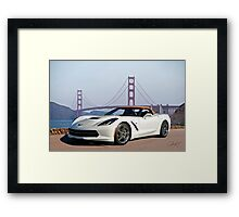 2014 Chevrolet Corvette Convertible Framed Print