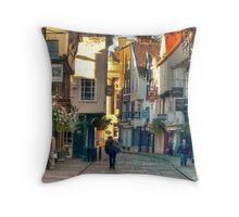 Stonegate - York,England,UK Throw Pillow