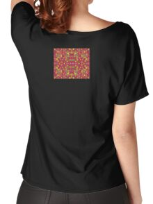60s Squares Colorful Pattern Dress Skirt Duvet Women's Relaxed Fit T-Shirt