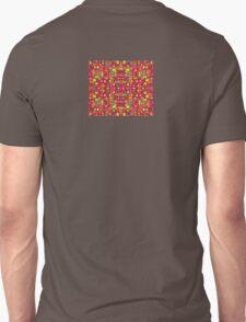 60s Squares Colorful Pattern Dress Skirt Duvet Unisex T-Shirt