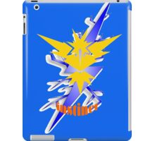 pokemon go team instinct iPad Case/Skin