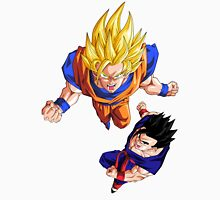 Super Saiyan Goku and Gohan - Dragon Ball Z Unisex T-Shirt