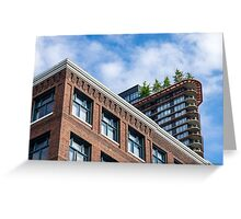 Gastown Skyline Greeting Card