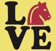 Chess horse love Baby Tee