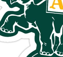 Oakland Athletics Elephant Sticker