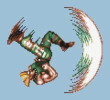 Guile Flash Kick Kids Tee