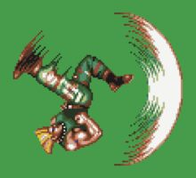 Guile Flash Kick One Piece - Short Sleeve