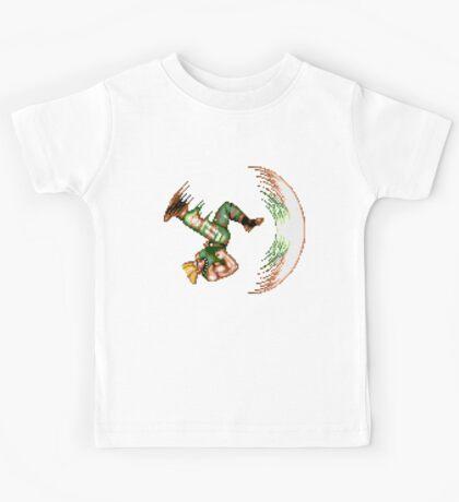 Guile Flash Kick Kids Tee