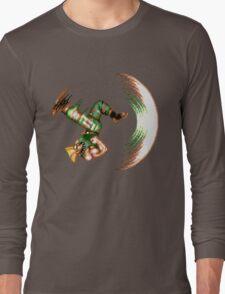 Guile Flash Kick Long Sleeve T-Shirt