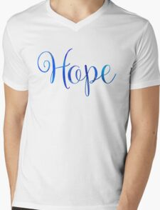 Hope Mens V-Neck T-Shirt