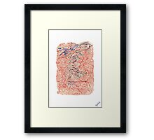 0402 - Yeah just Yeah so Cool Framed Print