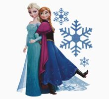 Frozen - Elsa and Anna Design Kids Clothes