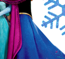 Frozen - Elsa and Anna Design Sticker