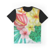 Asphalt Flower 2 Graphic T-Shirt