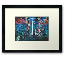 """The Garden in the Valley of the Stars"" Framed Print"