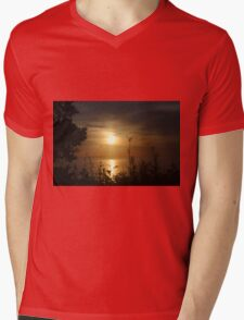 Sunrise in Sheboygan, Wisconsin Mens V-Neck T-Shirt