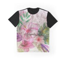 Asphalt Flower 4 Graphic T-Shirt