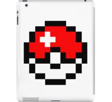 pokemon 8 bit pokeball iPad Case/Skin