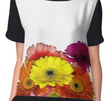 Chrysanthemums  Chiffon Top