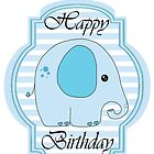 happy birthday Elephant by Michelle *