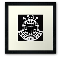 Asap Mob Framed Print