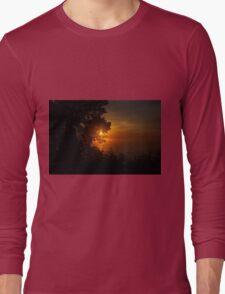 Sunrise in Sheboygan, Wisconsin Long Sleeve T-Shirt