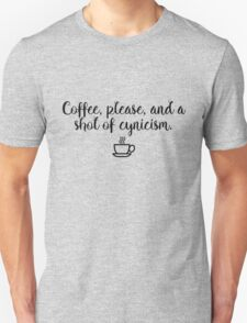Gilmore Girls - Coffee and Cynicism Unisex T-Shirt