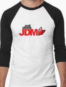 Eat Sleep JDM (6) Men's Baseball ¾ T-Shirt