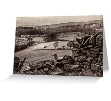 The Peak District, England Greeting Card