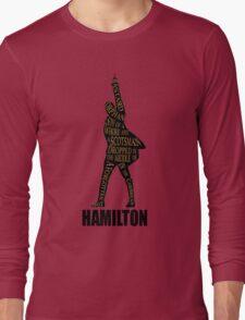 hamilton musical Long Sleeve T-Shirt