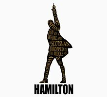 hamilton musical Womens Fitted T-Shirt