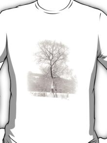 Solitary Tree in Snow T-Shirt
