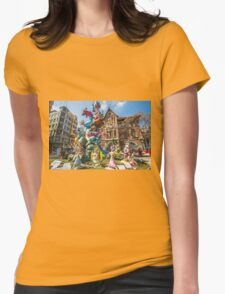 Fallas Womens Fitted T-Shirt