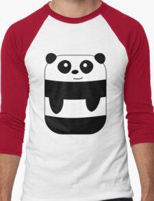 Funny Rectangular Panda Men's Baseball ¾ T-Shirt