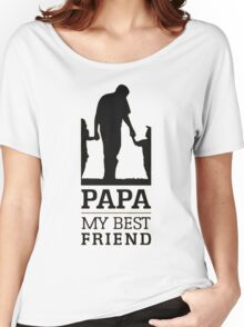 PaPa Women's Relaxed Fit T-Shirt