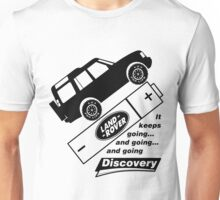 Energiser Battery - Land Rover (Parody) Unisex T-Shirt