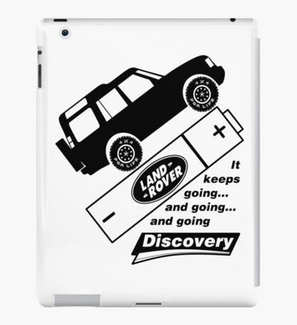 Energiser Battery - Land Rover (Parody) iPad Case/Skin