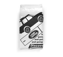 Energiser Battery - Land Rover (Parody) Duvet Cover