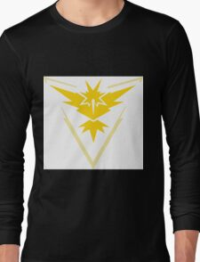 pokemon GO team instinct Long Sleeve T-Shirt
