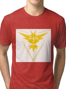 pokemon GO team instinct Tri-blend T-Shirt