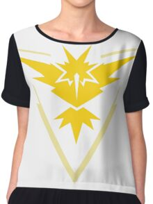 pokemon GO team instinct Chiffon Top