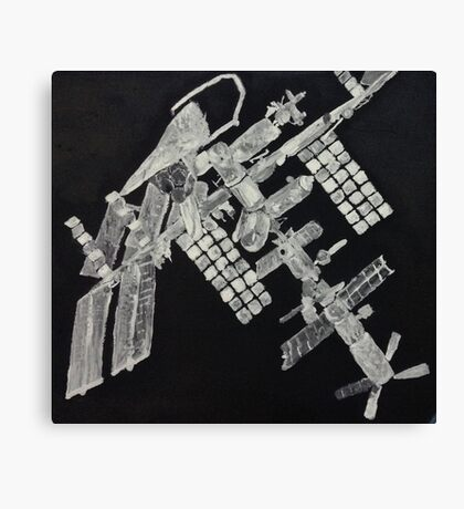 ISS International Space Station - Limited Edition Canvas Print