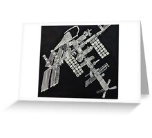 ISS International Space Station - Limited Edition Greeting Card