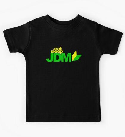 Eat Sleep JDM (1) Kids Tee