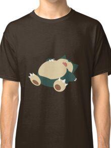 Sleeping Snorlax Classic T-Shirt