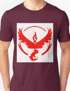 pokemon GO team valor Unisex T-Shirt